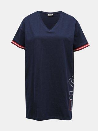 Tmavě modrá dámská noční košile FILA