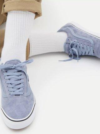 Světle modré pánské semišové tenisky VANS