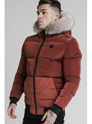Pánská červená zimní bunda - JACKET DISTANCE STOP RIP