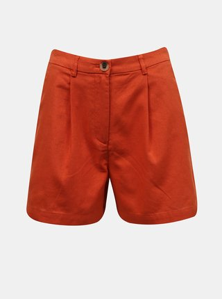 Kraťasy pre ženy VILA - oranžová