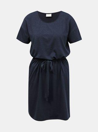 Letné a plážové šaty pre ženy VILA - tmavomodrá