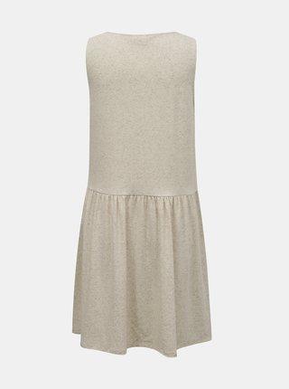Letné a plážové šaty pre ženy VILA - krémová