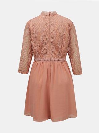 Spoločenské šaty pre ženy VILA - ružová
