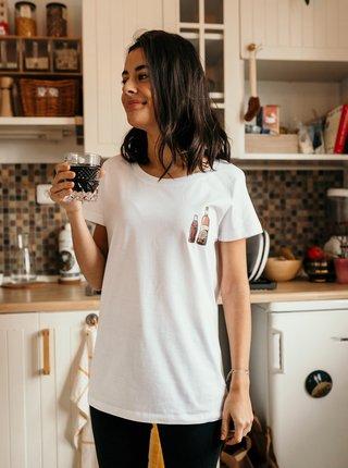 Bílé dámské tričko ZOOT Original Dokonalý pár