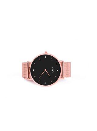 Růžové dámské hodinky s nerezovým páskem Vuch-Cooper