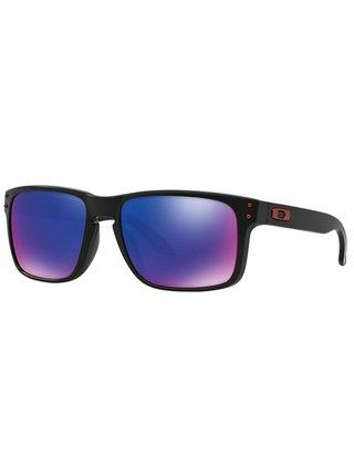 Oakley Holbrook Matte Black w/+ Red Iridium sluneční brýle pilotky - černá