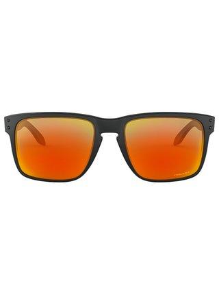 Oakley Holbrook XL Matte Black w/ PRIZM Ruby sluneční brýle pilotky - černá