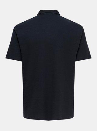 Tmavě modré polo tričko ONLY & SONS Salf