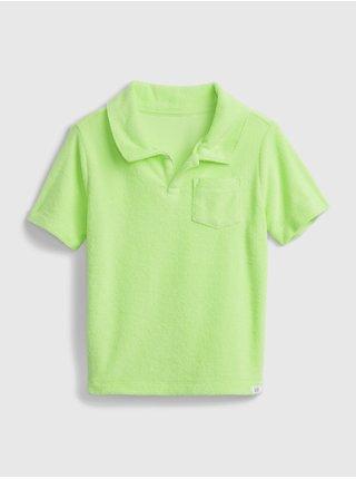 Barevné klučičí dětské polo tričko short sleeve shirt GAP