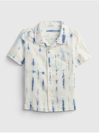 Smetanová klučičí dětská košile shirt GAP