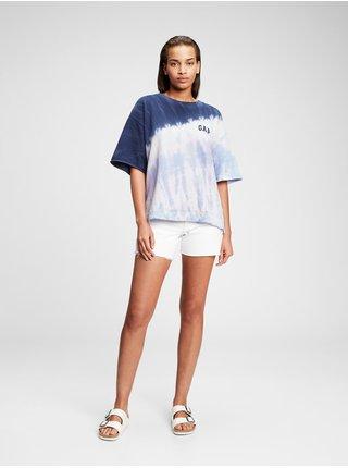 Modré dámské tričko Gap Logo t-shirt