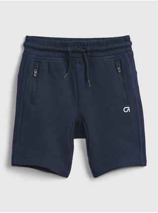 Modré klučičí dětské kraťasy gapfit fit tech pull-on shorts GAP