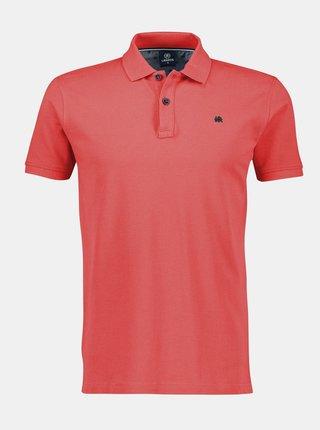 Červené pánské basic polo tričko LERROS