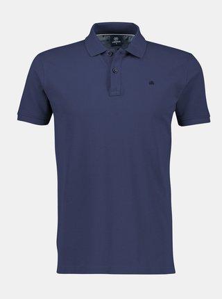 Tmavě modré pánské basic polo tričko LERROS