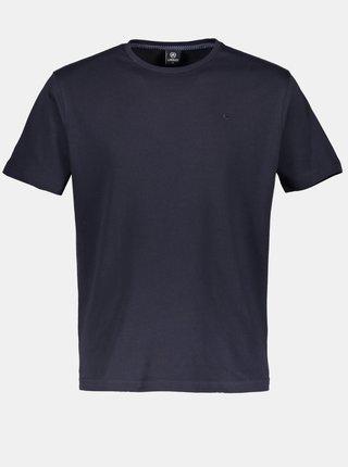 Tmavomodré pánske basic tričko LERROS