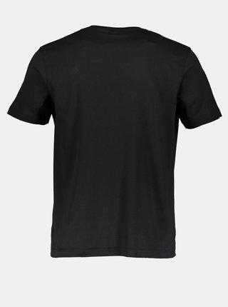 Černé pánské basic tričko LERROS
