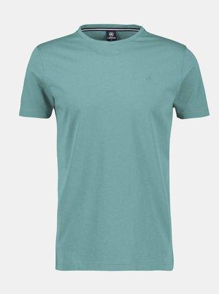 Tyrkysové pánské basic tričko LERROS
