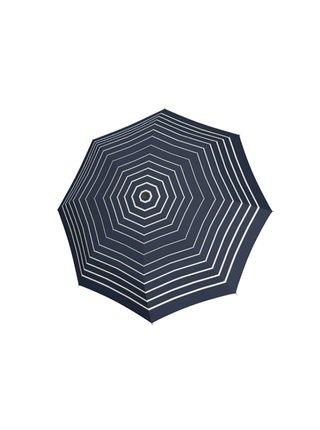 Doppler Mini Fiber Timeless dámský skládací deštník - Modrá