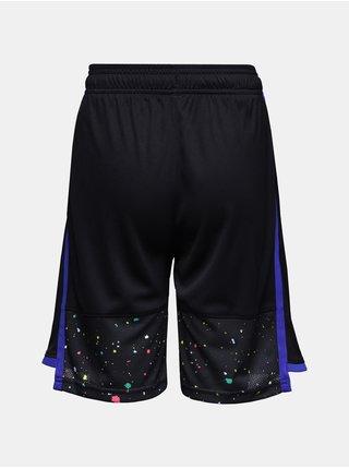 Černé klučičí kraťasy Under Armour Stunt 3.0 PRTD Shorts