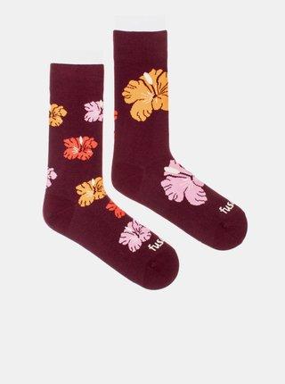 Ponožky pre ženy Fusakle - vínová