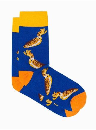 Pánské ponožky U108 - nebesky modrá