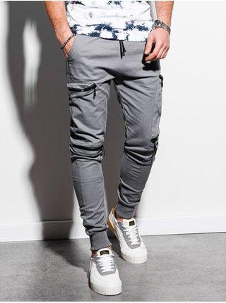 Pánske jogger nohavice P997 - sivá