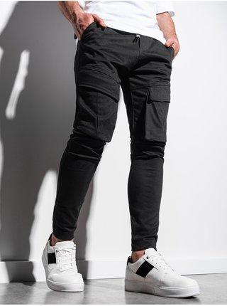 Pánske jogger nohavice P999 - čierna
