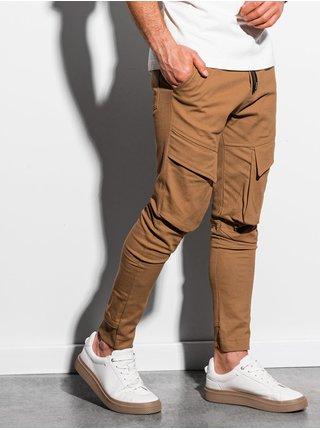 Pánske jogger nohavice P999 - ťavia