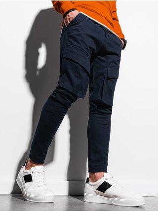 Pánske jogger nohavice P999 - námornícka