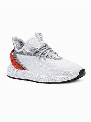 Pánské sneakers boty T371 - bílá