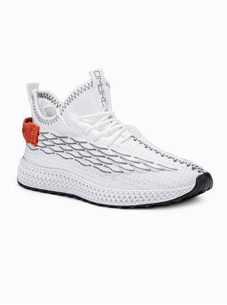 Pánské sneakers boty T372 - bílá