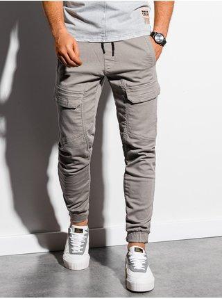 Pánské jogger kalhoty P925 - šedá
