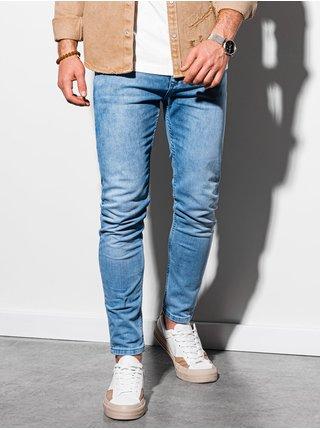Pánske riflové nohavice P1007 - svetlo