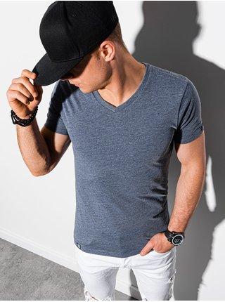 Pánske tričko bez potlače S1369 - nebesko modrá