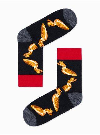 Pánské ponožky U108 -černá