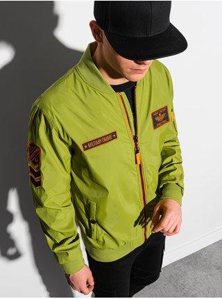 Pánská jarní bunda C485 - zelená
