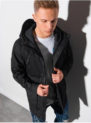 Pánska jarná bunda C456 - čierna