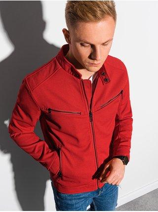 Pánska jarná bunda C480 - červená