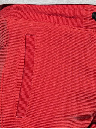 Pánské teplákové kraťasy W294 - červená