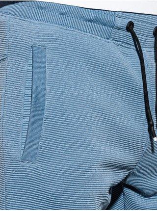 Pánske teplákové kraťasy W294 - nebesko modrá