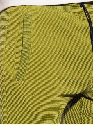 Pánské teplákové kraťasy W294 - olivová