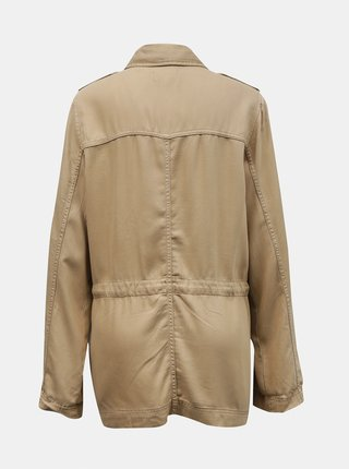 Béžová lehká bunda s kapsami ONLY Kenya