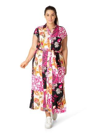 Dámské růžové šaty Yesta
