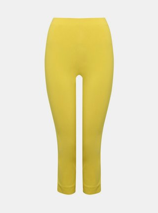 Žlté 3/4 skinny fit nohavice M&Co