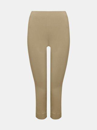 Béžové 3/4 skinny fit nohavice M&Co