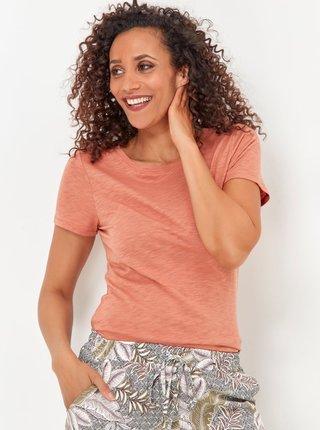 Světle hnědé tričko M&Co