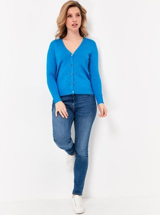 Modrý kardigan M&Co