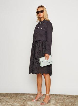Černé šaty s madeirou Ichi Ihfionn