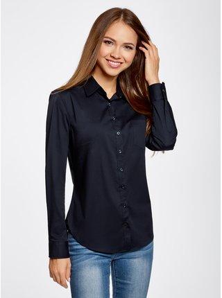 Košile klasická s jednou kapsou OODJI