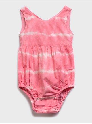 Růžové holčičí dětské plavky may swim suit
